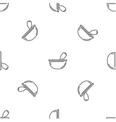 Chemical bowl pattern seamless vector