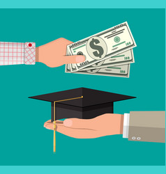 Education savings and investmet concept vector