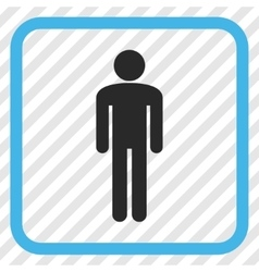 Man Icon In a Frame vector