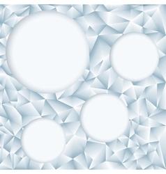 Retro pattern of geometric shapes Geometric vector image