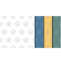soccer ball backdrop vector image