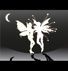 Butterflyman vector