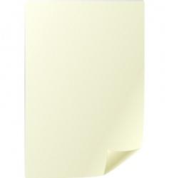 parchment sheet vector image