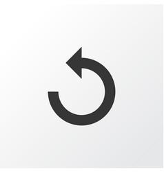 reload icon symbol premium quality isolated vector image
