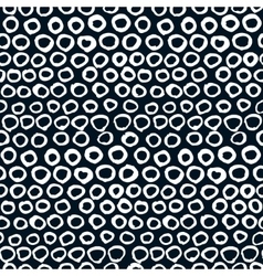 seamless artistic pattern Hand drawn vector image vector image