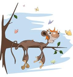 Sloth monkey vector image vector image