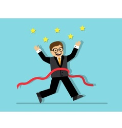 Winner in business vector image