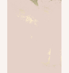 abstract marble trendy texture in pastel and gold vector image