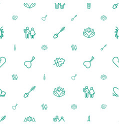 beautiful icons pattern seamless white background vector image