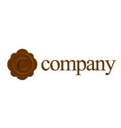 C logo for attorney company vector