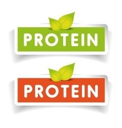 Protein label set vector
