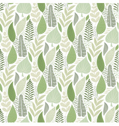 Seamless tough pattern with flowers vector