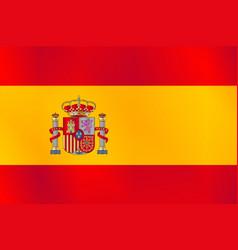 The spanish flag vector