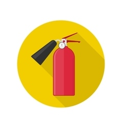 Fire extinguisher icon vector image
