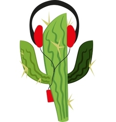 Cactus in the player vector image