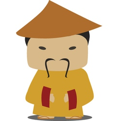 chinese person vector image