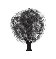 drvo sarano1 vector image