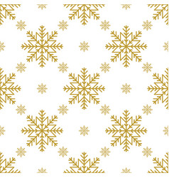 Golden vintage decor seamless pattern vector