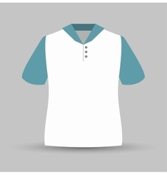 neck shirt isolated icon design vector image