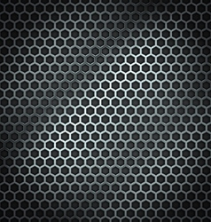 Metal cell background vector image vector image