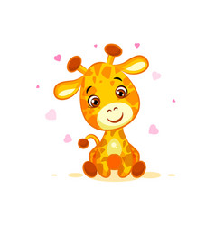 Emoji hello hi in love hearts you are cute vector