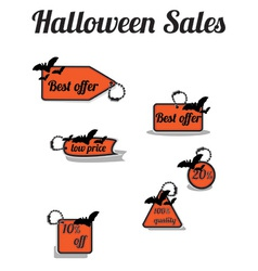 haloween sales vector image