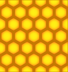 honeycomb repeatable pattern seamless hexagonal vector image