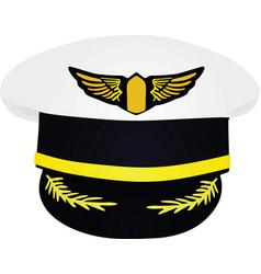 Pilots hat vector