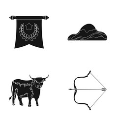 Sport training and or web icon in black style vector