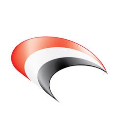 Yemeni flag vector