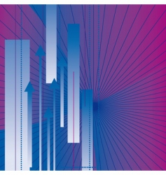 abstract background with the arrows vector image vector image