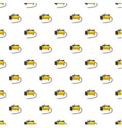 Car air compressor pattern vector