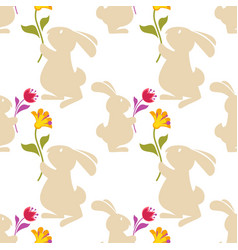 cartoon seamless pattern background with vector image