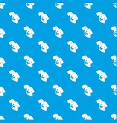 Dirty tshirt pattern seamless blue vector