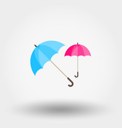 rainwater umbrella vector image