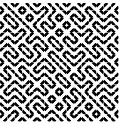 seamless geometry truchet pattern vector image