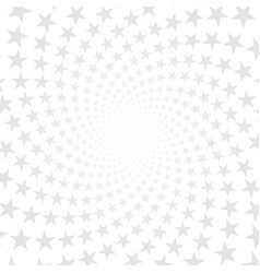 Twisted stars spiral abstract background vector