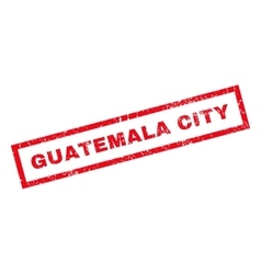 Guatemala City Rubber Stamp vector image vector image