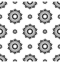 Ethnic pattern Seamless ornament vector image vector image