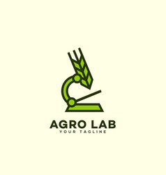 Agro lab logo vector