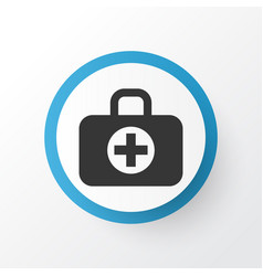 Aid icon symbol premium quality isolated surgical vector