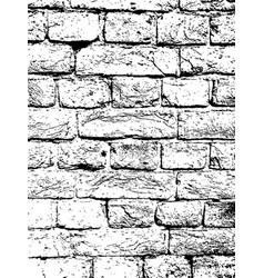 brick wall vintage texture overlay vector image