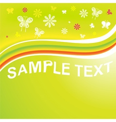 Bright Floral Design vector