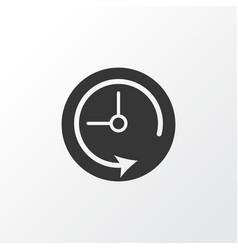 Deadline icon symbol premium quality isolated vector