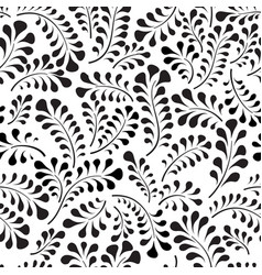 Floral seamless pattern with flower rose abstract vector