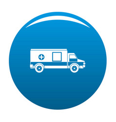 medical aid icon blue vector image