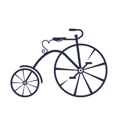 Penny-farthing vector