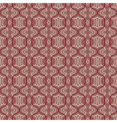 Simple Moroccan pattern in organic brown vector