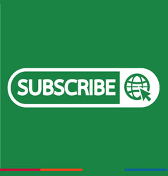 Subscribe icon symbol design vector