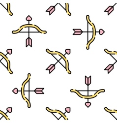 Wedding flat pattern vector